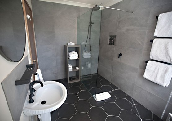 The Derwent bathroom