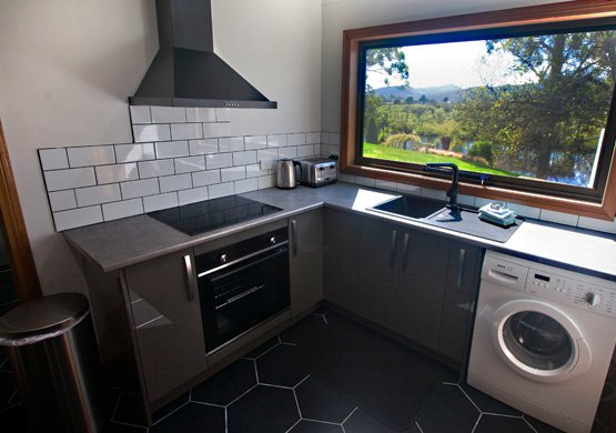 The Derwent combined kitchen and laundry